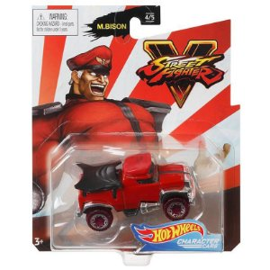 Hot Wheels Veiculo Street Fighter Carro M.Bison Mattel Gjj23