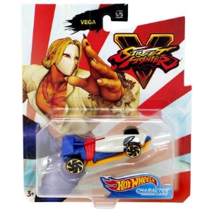Hot Wheels Veiculo Street Fighter Carro Vega da Mattel Gjj23