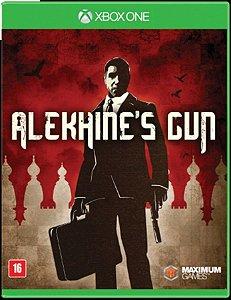 Jogo Lacrado Alekhines Gun Para Xbox One Legendado Em Pt Br