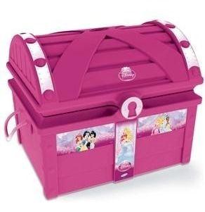 Novo Brinquedo Para Playground Baú Princesas Disney Xalingo