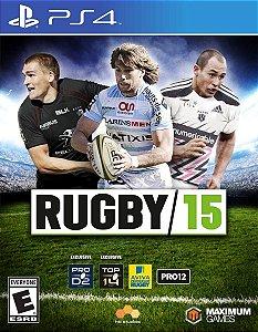 Jogo Novo Lacrado Rugby 15 Para Playstation 4 Ps4