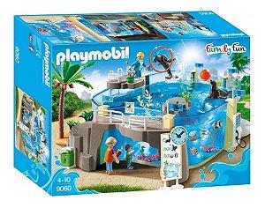 Brinquedo Playmobil Family Fun Passeio No Aquário 9060
