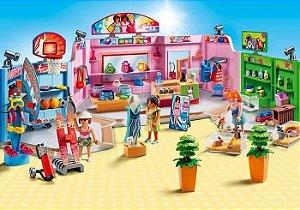 Brinquedo Playmobil City Life Galeria Comercial 9078