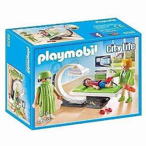 Brinquedo Playmobil City Life Sala De Raio X 6659