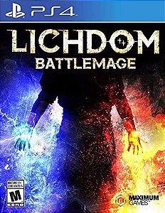Jogo Lacrado Mídia Física Lichdom Battlemage Playstation Ps4