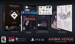 Jogo Midia Fisica Axiom Verge Multiverse Edition Para Ps4