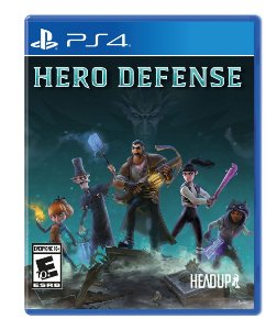 Jogo Lacrado Midia Fisica Hero Defense para PS4