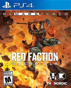 Jogo Lacrado Red Faction Guerrilla Re Mars Tered Edition PS4