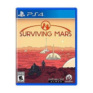 Jogo Lacrado Midia Fisica Surviving Mars para PS4