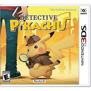 Jogo Lacrado Midia Fisica Detective Pikachu Nintendo 3DS