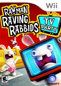 Jogo Novo Raving Rabbids TV Party Para Nintendo Wii