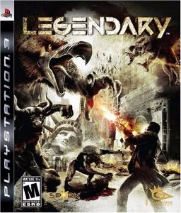 Jogo Novo Lacrado Legendary Para Playstation 3 Ps3