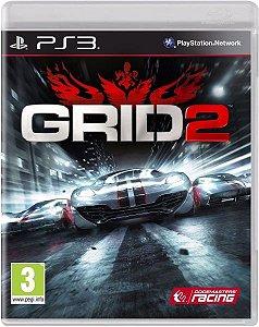 Jogo Mídia Física Corrida Grid 2 Original Ps3 Playstation