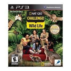 Jogo Americano Nat Geo Challenge! Wild Life Para Ps3 Play 3