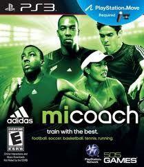 Jogo adidas Micoach Lacrado Para Playstation Ps3 Requer Move