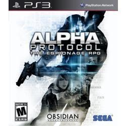 Jogo Alpha Protocol Para Playstation 3 Ps3 , Americano Novo