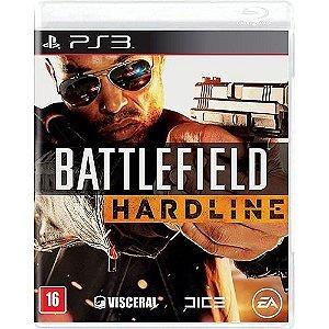 Jogo Novo Lacrado Battlefield Hardline Playstation 3 Ps3