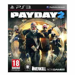 Jogo Novo Lacrado Da Overkill Payday 2 Ps3 Playstation