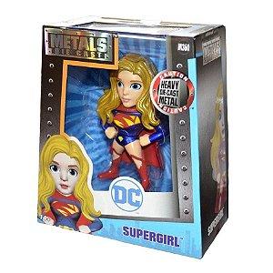 Brinquedo Boneco Metal Die Cast Supergirl Original Dtc