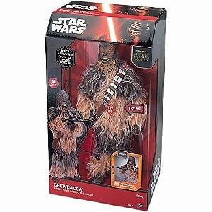 Novo Boneco Star Wars Interativo Chewbacca 40cm Animatronic