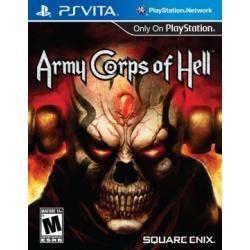 Jogo Ps Vita Lacrado Original Army Corps Of Hell Para Psvita