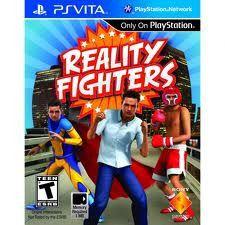 Jogo Reality Fighters Original E Lacrado Para Psvita