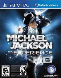 Jogo Michael Jackson The Experience Hd Pra Ps Vita Lacrado