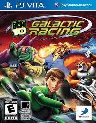 Jogo Novo Original Ben 10 Galactic Racing Para Ps Vita