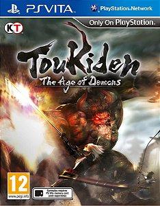Jogo Lacrado Toukiden: The Age Of Demons Para Ps Vita