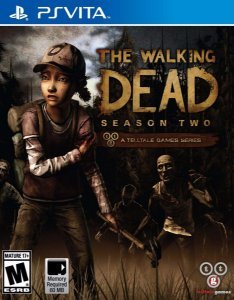 Jogo Novo Lacrado The Walking Dead Season Two Para Ps Vita