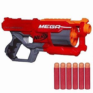 Lançador Nova Nerf N-strike Mega Cyclone Hasbro A9353