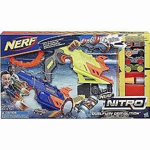 Brinquedo Nerf Nitro Lançador De Carro Duelfury C0817