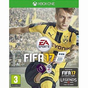 Jogo Mídia Física Fifa 17 Ea Sports Para Xbox One