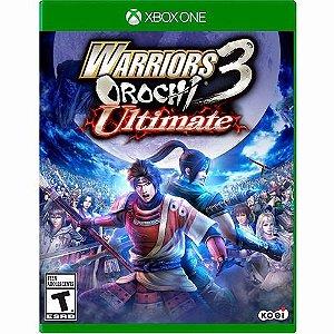 Jogo Lacrado Warriors 3 Orochi Ultimate Para Xbox One