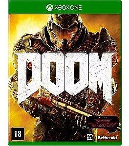 Jogo Novo Mídia Física Doom Original Para Xbox One
