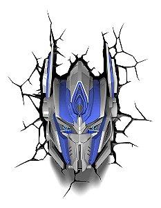 Luminária De Parede Transformers Optimus Prime 3d Light Fx