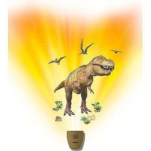 Nova Luminária De Mesa Dinossauro Wild Walls