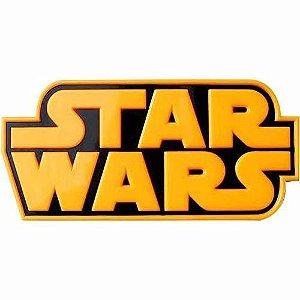 Nova Luminária De Parede Logo Star Wars Original 3d Light Fx