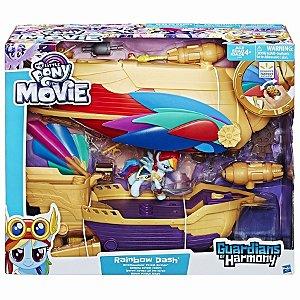 Brinquedo My Little Pony Guardians Rainbow Dash C1059