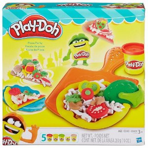 Brinquedo Play Doh Festa Da Pizza Original Hasbro B1856