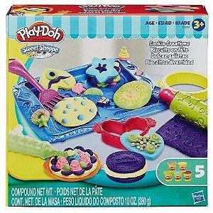 Brinquedo Play Doh Biscoitos Divertido Hasbro B0307