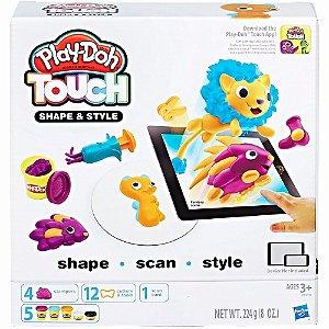 Brinquedo Massinha Playdoh Touch Moldar E Enfeitar Hasbro