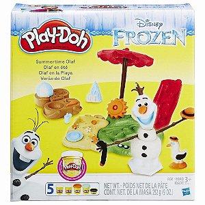 Brinquedo Play Doh Verão Do Olaf Frozen Hasbro B3401