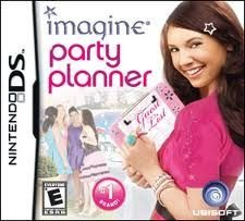 Jogo Imagine Party Planner Original Para Nintendo  Ds