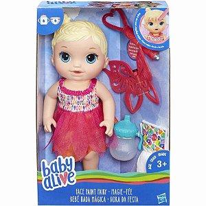 Brinquedo Boneca Hasbro Baby Alive Hora Da Festa Loira B9723