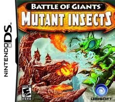 Jogo Battle Of Giants Mutant Insects Para Nintendo Ds