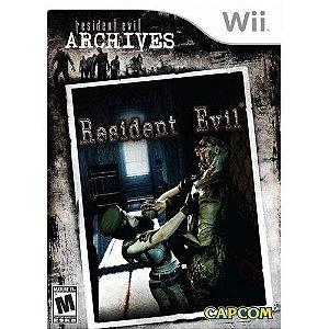 Resident Evil Archives Para Nintendo Wii Lacrado Original