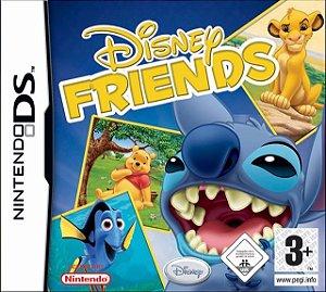 Jogo Mídia Física Disney Friends Original Nintendo Ds