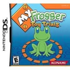 Jogo Novo My Frogger Toy Trials Lacrado Para Nintendo Ds