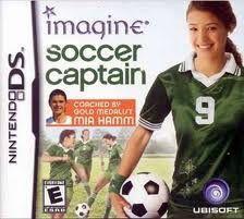 Jogo Novo Imagine Soccer Captain Nintendo Ds Da Ubisoft